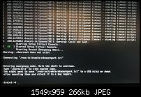 UEFI boot hangs on